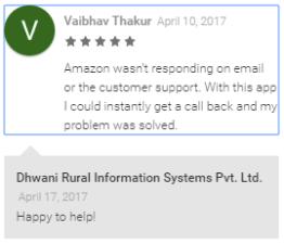 vaibhav thakur feedback